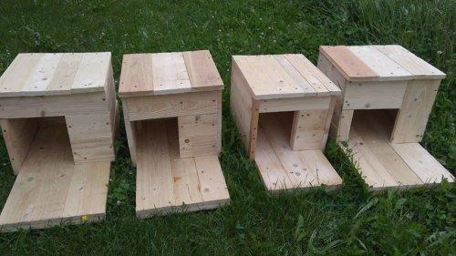 Výroba hnízdních budek pro kachny